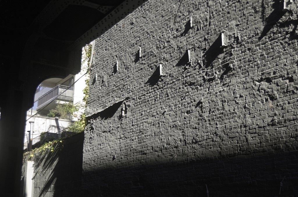 Gray Wall in Sunlight