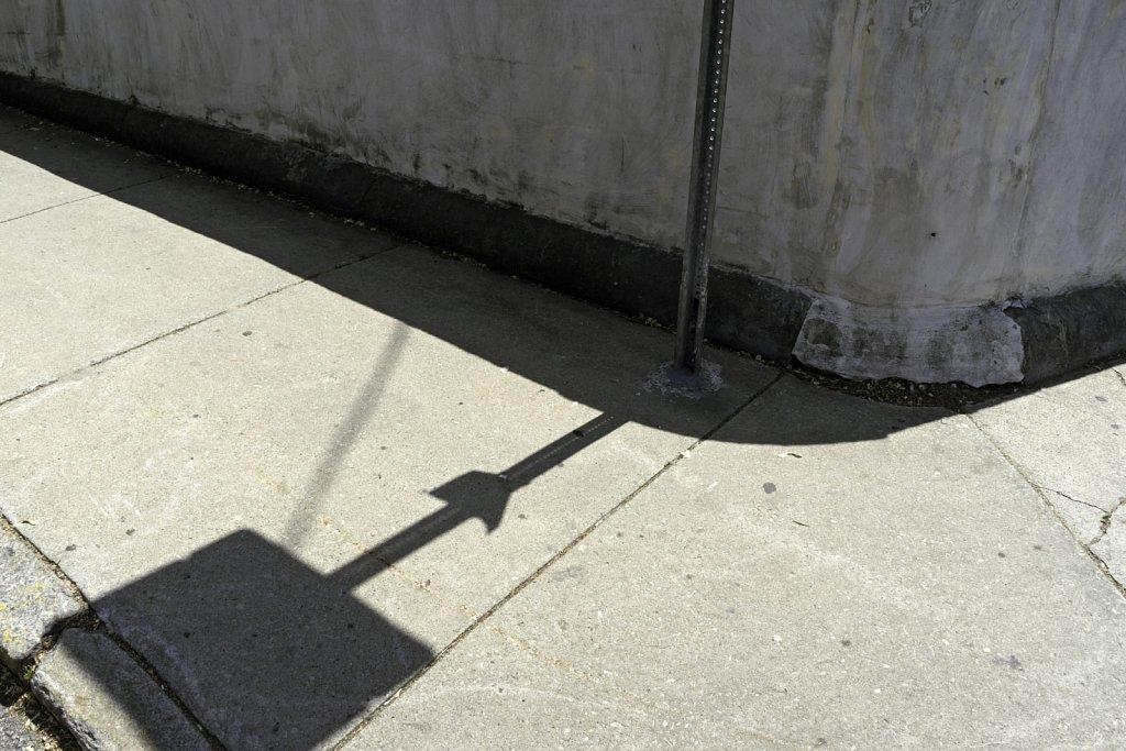 Sign  Shadow at Wall