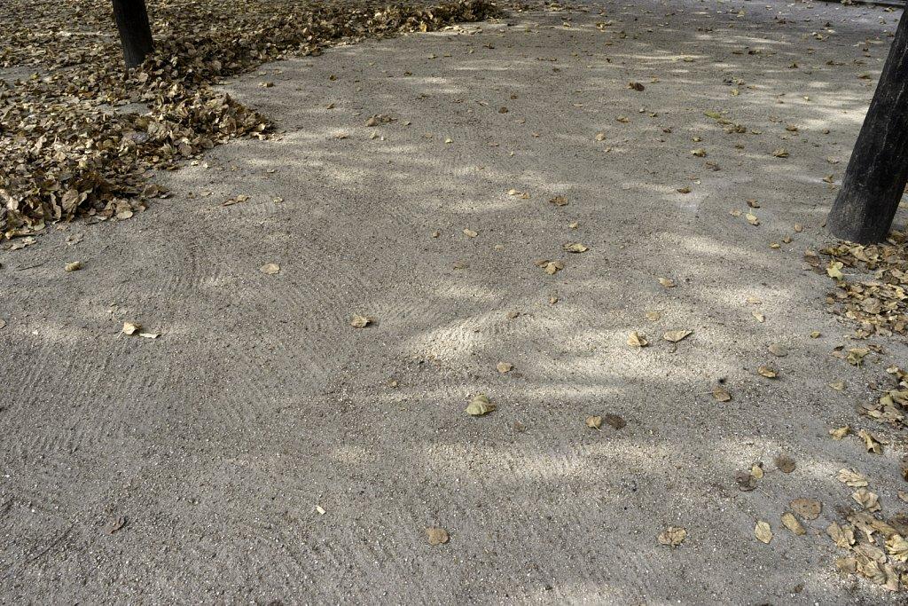 Raked Gravel Surface