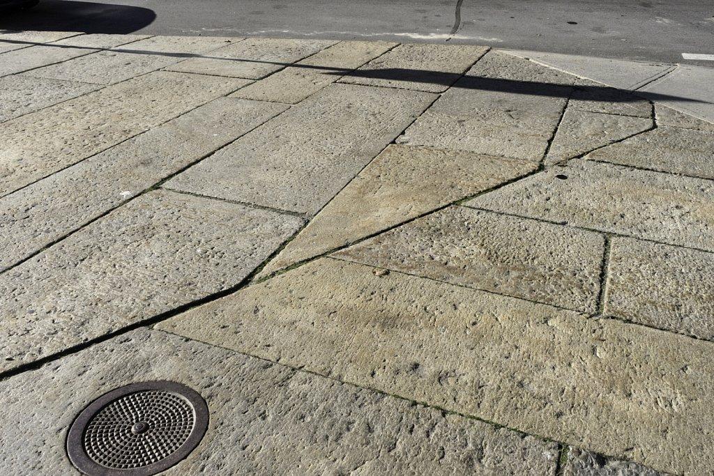 Granite Block Sidewalk